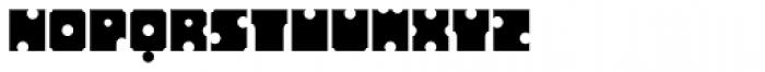 Sergury Font LOWERCASE