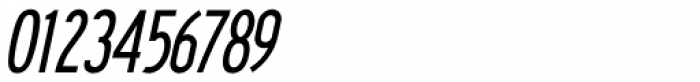Series A Signage Oblique JNL Font OTHER CHARS