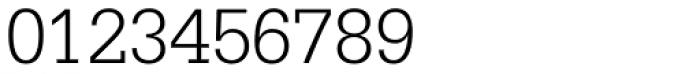 Serifa 45 Light Font OTHER CHARS