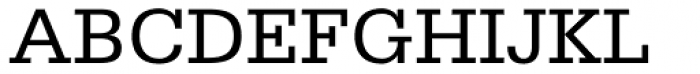 Serifa 55 Roman Font UPPERCASE