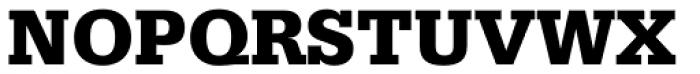 Serifa Black Font UPPERCASE