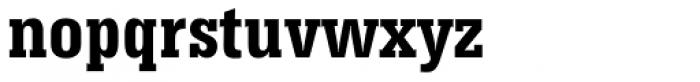 Serifa Bold Condensed Font LOWERCASE