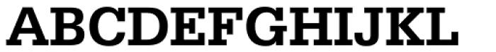 Serifa Bold Font UPPERCASE