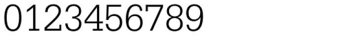 Serifa Light Font OTHER CHARS