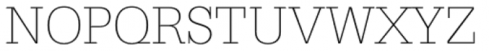 Serifa Thin Font UPPERCASE