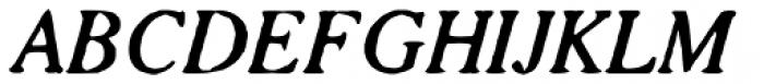 Seriffi Morgan Italic Font UPPERCASE