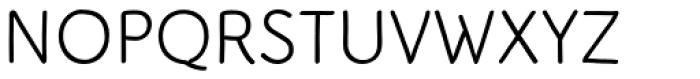 Serious Sans Pro Font UPPERCASE