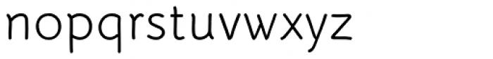 Serious Sans Pro Font LOWERCASE