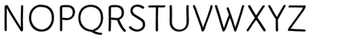 Serious Sans Try Font UPPERCASE