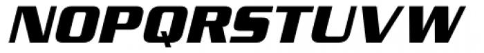 Serpentine Sans ICG Bold Oblique Font UPPERCASE