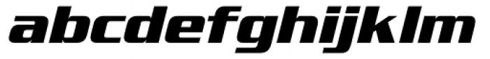 Serpentine Sans ICG Bold Oblique Font LOWERCASE