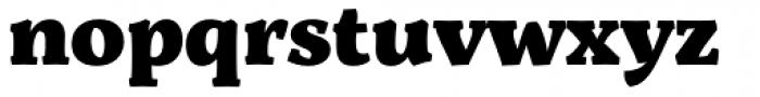 Servus Slab Black Font LOWERCASE