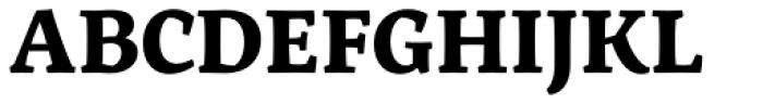 Servus Slab Bold Font UPPERCASE