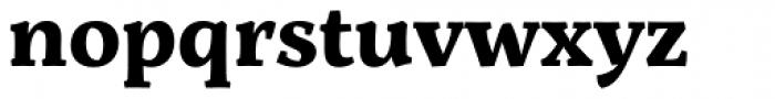 Servus Slab Bold Font LOWERCASE