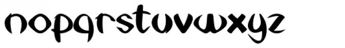 Set Theory Font LOWERCASE
