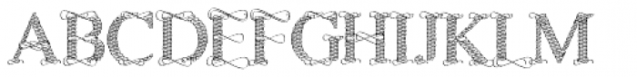 Sevigny Font UPPERCASE