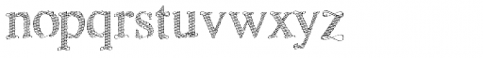 Sevigny Font LOWERCASE