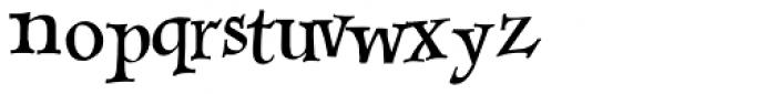 Sevillia Dancing Text Font LOWERCASE