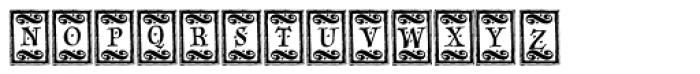 Sevillia Tiles Font UPPERCASE