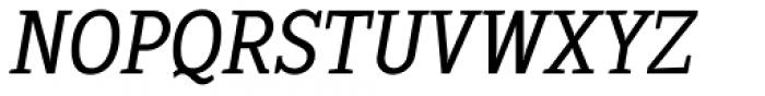 Sextan Cyrillic Book Italic Font UPPERCASE