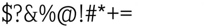 Sextan Cyrillic Light Font OTHER CHARS