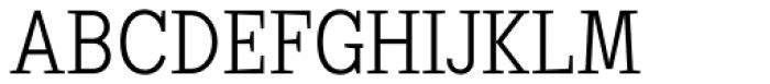 Sextan Cyrillic Light Font UPPERCASE