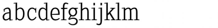 Sextan Cyrillic Light Font LOWERCASE