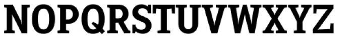 Sextan Serif Bold Font UPPERCASE