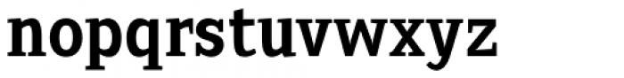 Sextan Serif Bold Font LOWERCASE