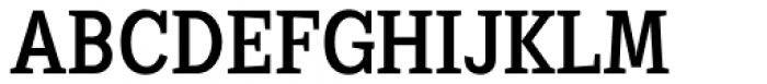 Sextan Serif Roman Font UPPERCASE