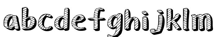 Senty Chalk Font LOWERCASE