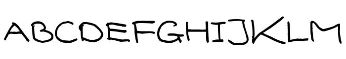 Senty Cream Puff Handwriting Font UPPERCASE