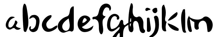 Senty Golden Bell Handwriting Font LOWERCASE