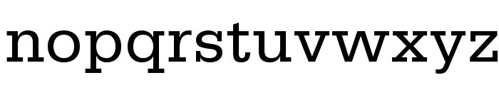 SerifaStd-Roman Font LOWERCASE