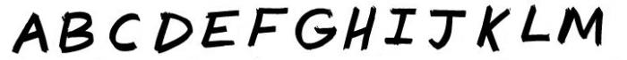 segura magnum claude 3 Font LOWERCASE