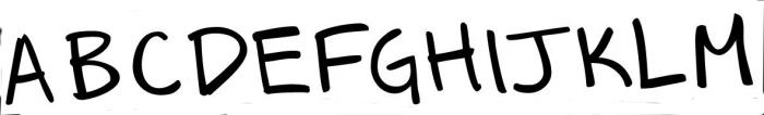 segura princess-g 2 Font UPPERCASE