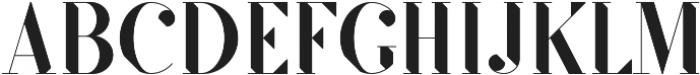 SF Kingston ttf (500) Font UPPERCASE