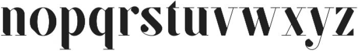 SF Kingston ttf (500) Font LOWERCASE