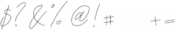 Sfattii otf (400) Font OTHER CHARS