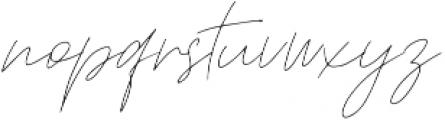 Sfattii otf (400) Font LOWERCASE