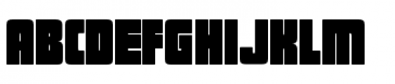 Sforzando Alto Font UPPERCASE