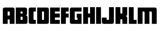 Sforzando Regular Font UPPERCASE