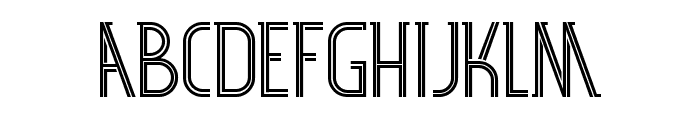 SF 360RT Font LOWERCASE