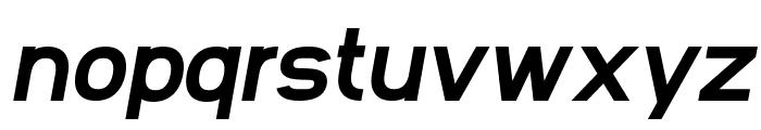 SF Arborcrest Heavy Oblique Font LOWERCASE