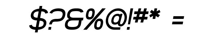 SF Arborcrest Medium Oblique Font OTHER CHARS