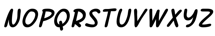 SF Arch Rival Italic Font LOWERCASE
