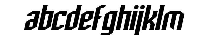 SF Archery Black Oblique Font LOWERCASE