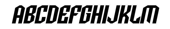 SF Archery Black SC Oblique Font LOWERCASE