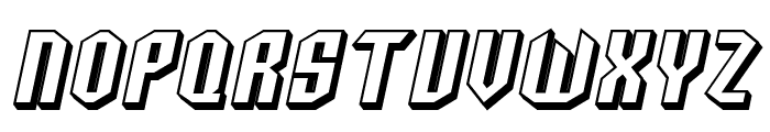 SF Archery Black SC Shaded Oblique Font LOWERCASE