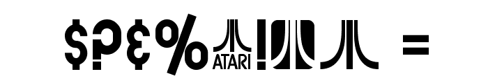 SF Atarian System Bold Font OTHER CHARS